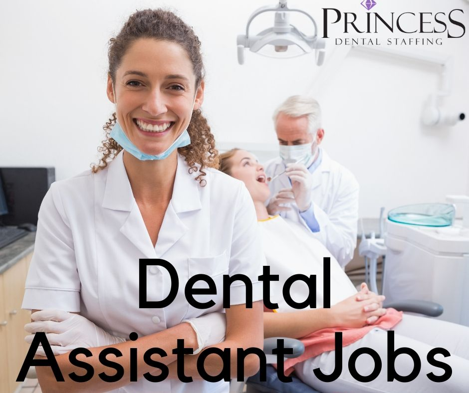 Dental Assistant doing their job