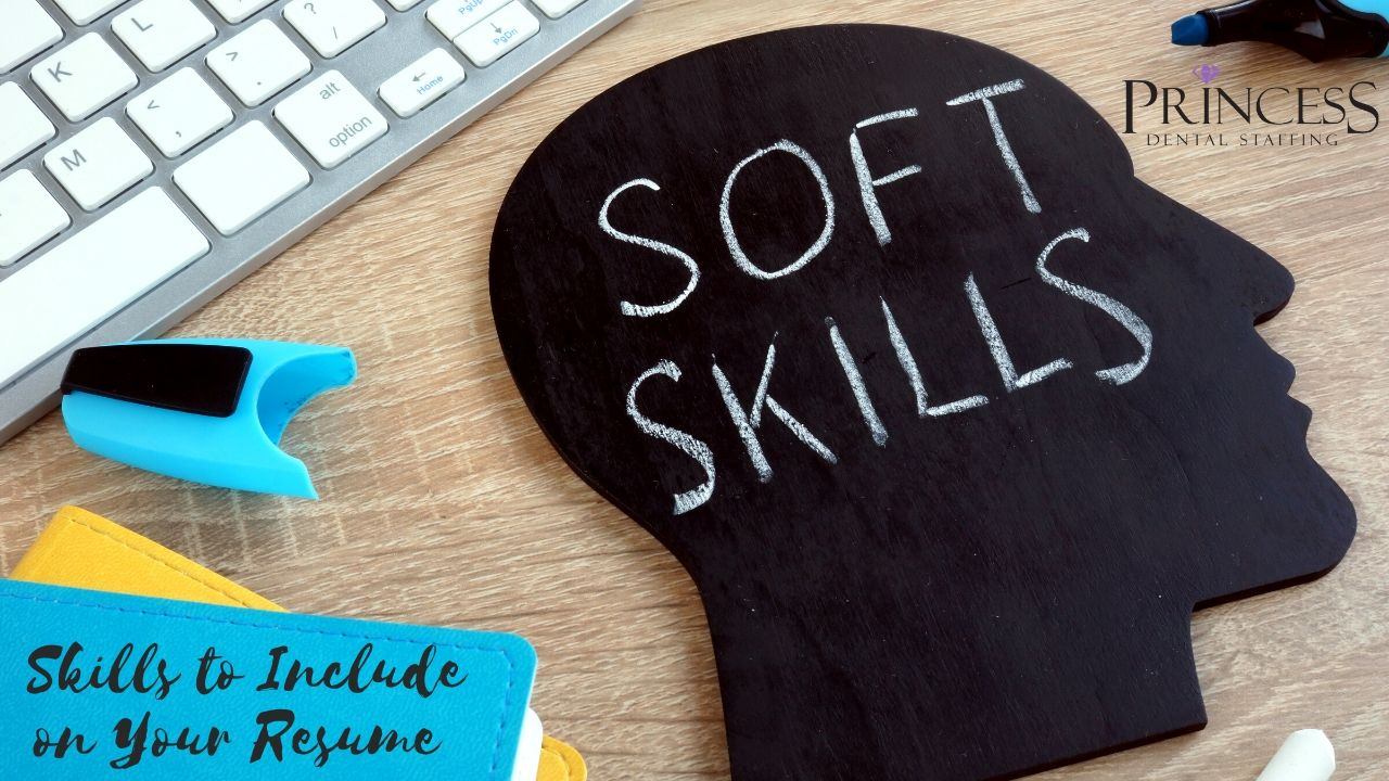 Image of a head with the word soft skills written inside
