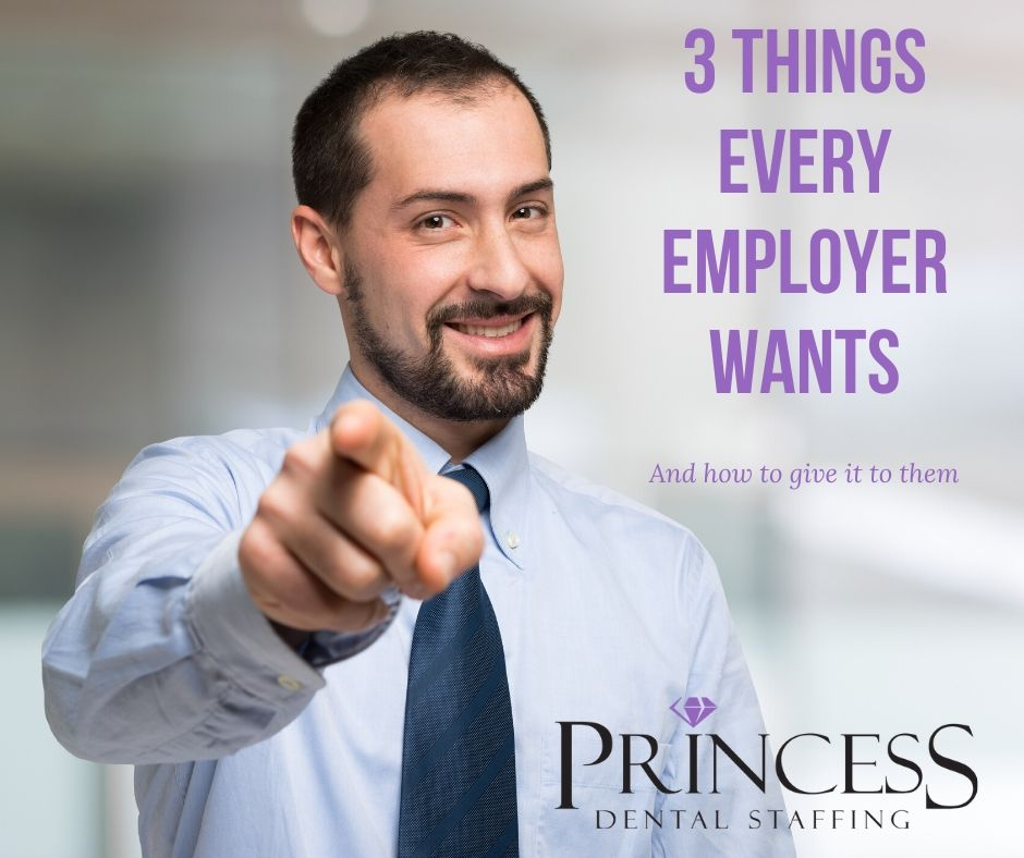 Employer pointing at you