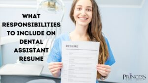Dental assistant resume responsibilities 300x169
