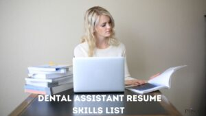 Dental assistant resume skills list 300x169